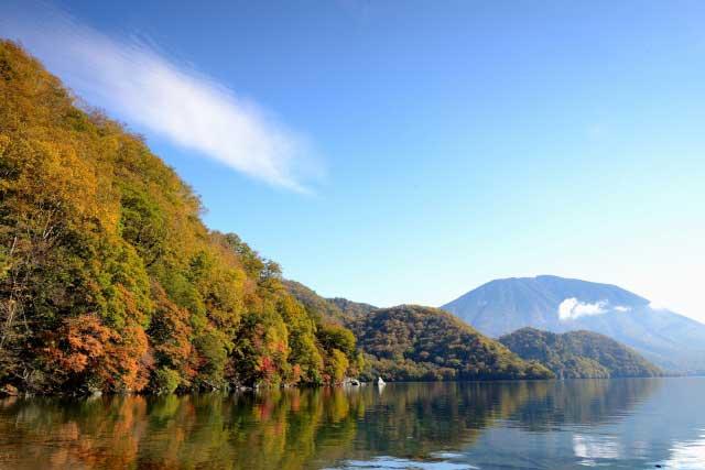 日本で最も高所にある自然湖です