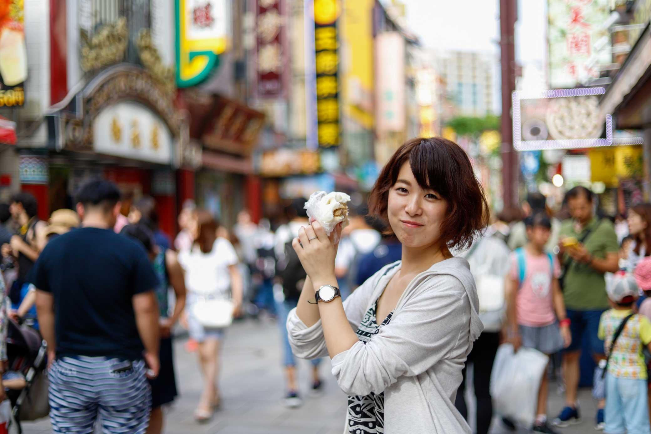食べ歩きは中華街の醍醐味です