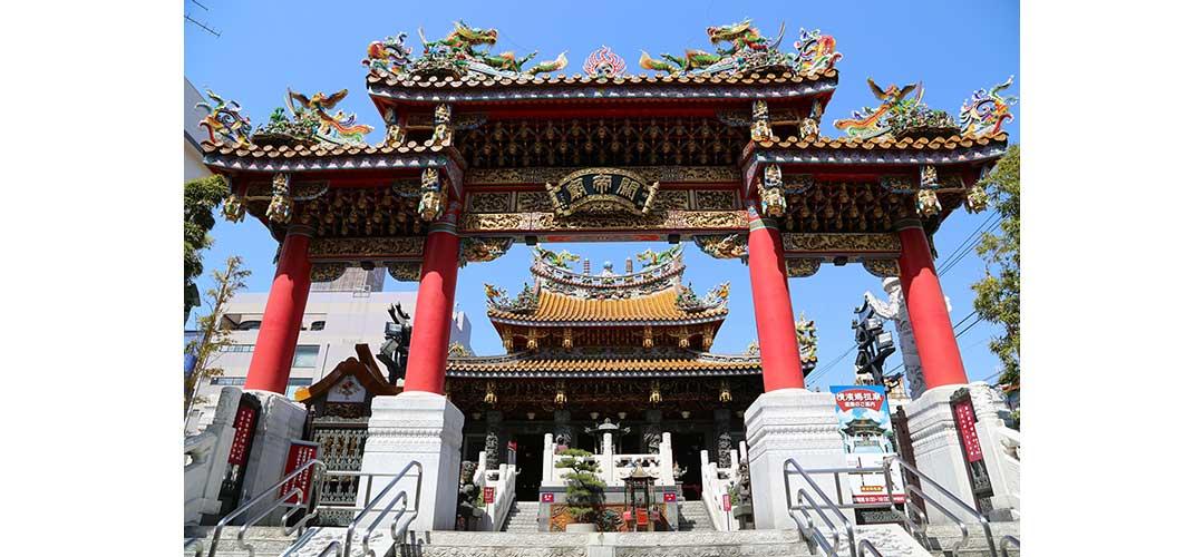 三国志時代の関羽公を祀る関帝廟