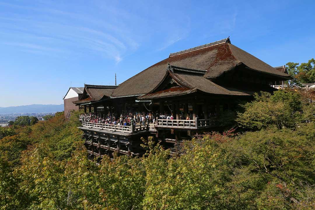 昼間の清水寺