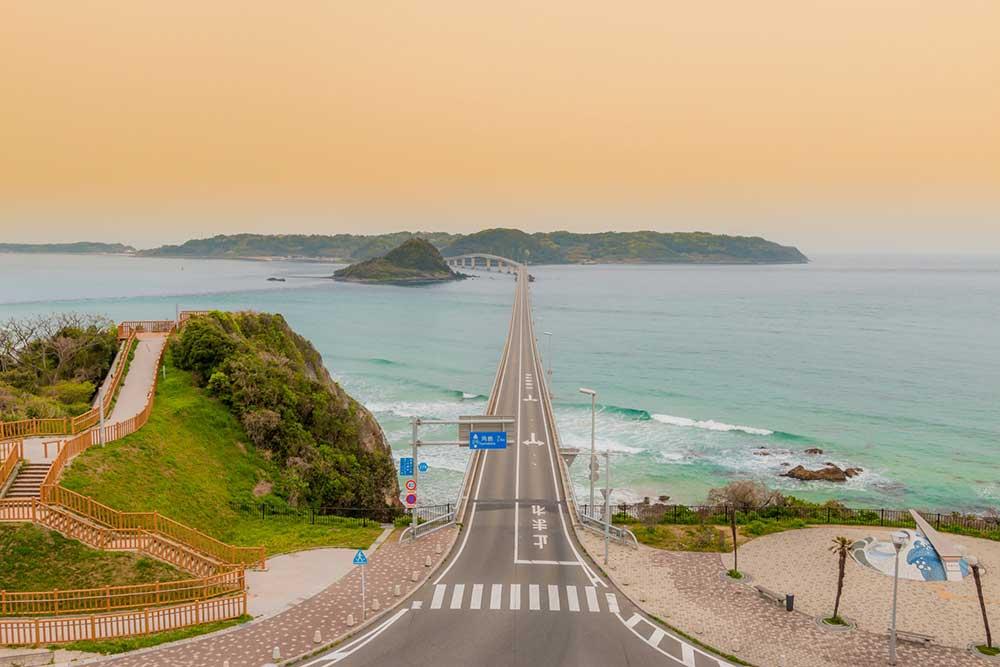 角島大橋を渡り角島へ