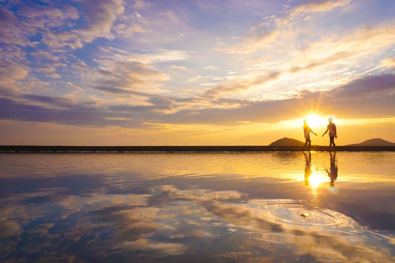 父母ヶ浜で撮れたフォト