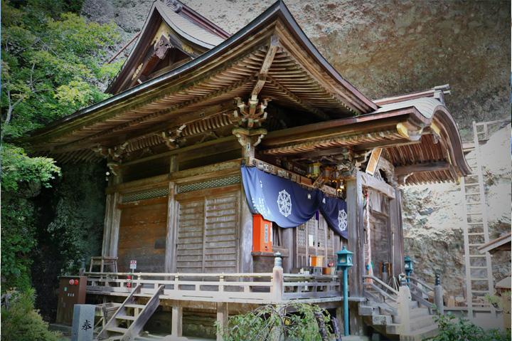 趣ある海岸山岩屋寺
