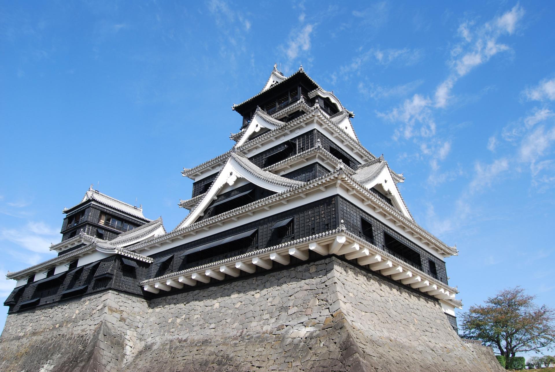 日本三大名城のひとつ 熊本城