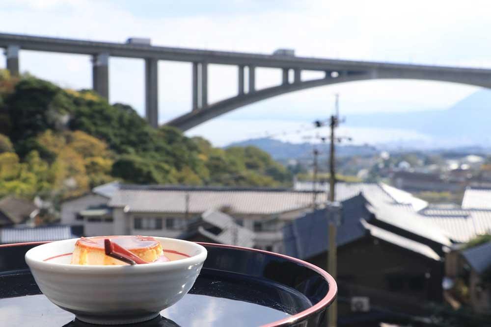 岡本屋売店からの景色