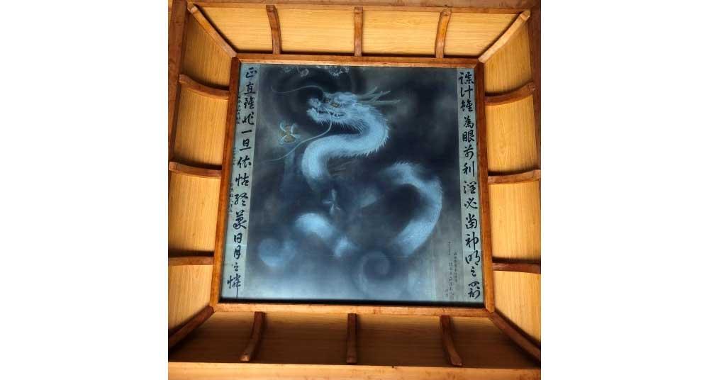 龍 拝殿天井