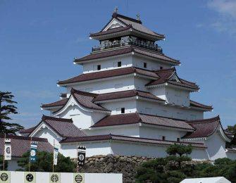 会津若松のシンボル 会津若松城