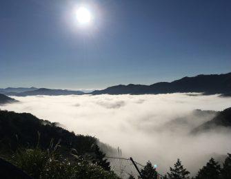 雲海に浮かぶ