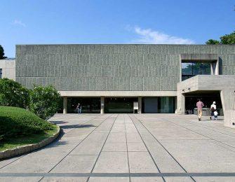 上野公園の一画に佇む美術館です