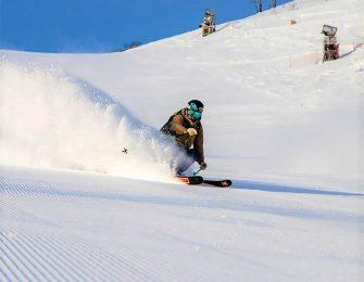 良質の雪が降るスキー場です