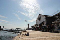 古い港町 鞆の浦
