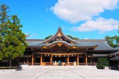 神奈川県「寒川神社」本殿