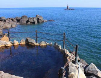 海の香り広がる温泉