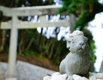 白兎神を主神とする神社です