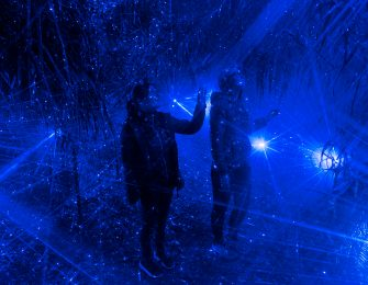 最先端の光と映像の演出