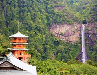 那智勝浦の那智の滝