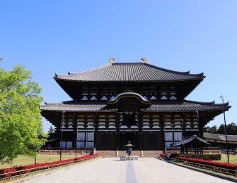 東大寺の大仏様 廬舎那仏像が有名ですね