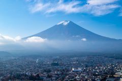 富士山 全景