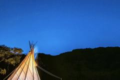 KARADOMARI VILLAGE(唐泊ヴィレッジ)のテント
