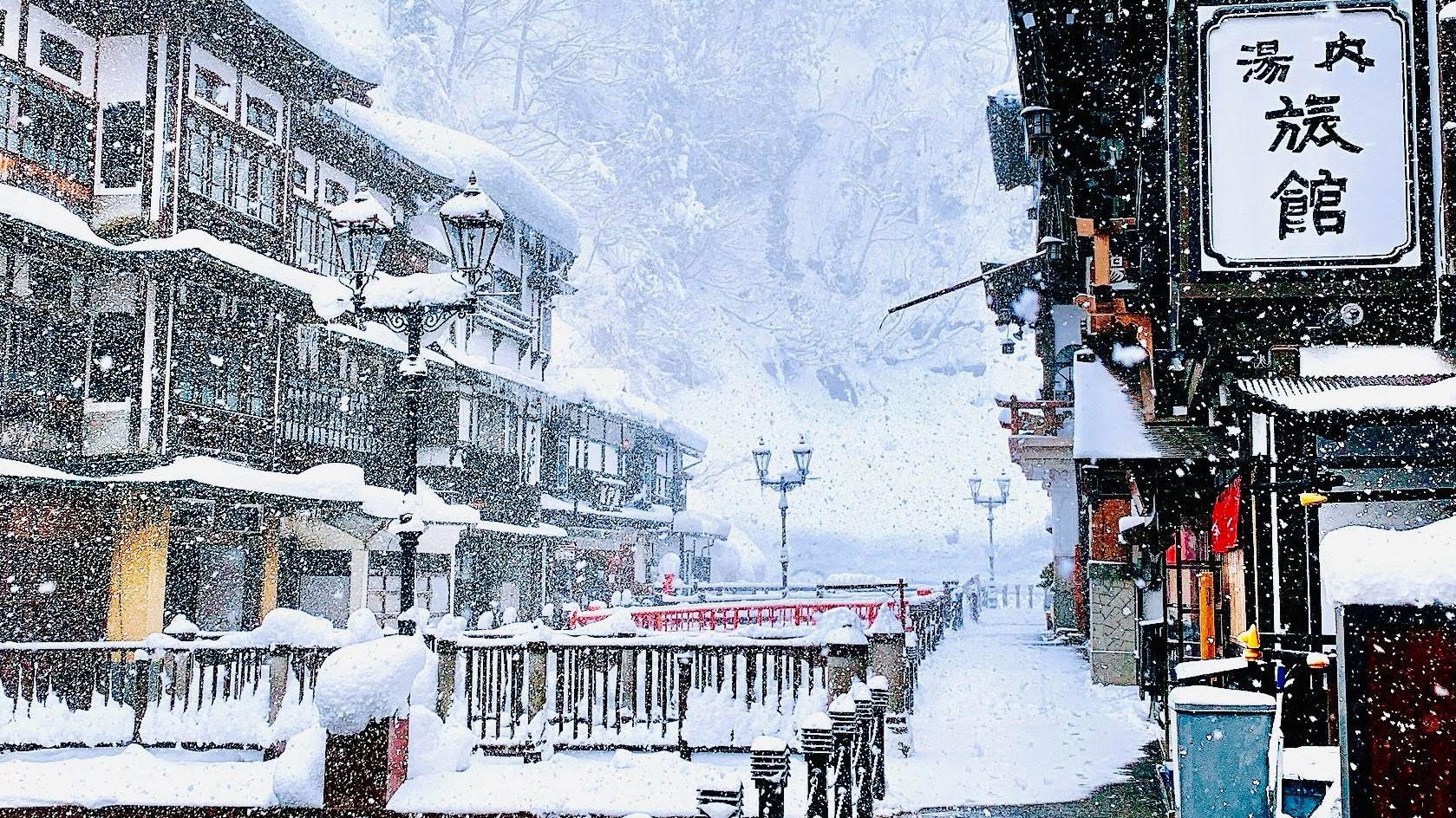 大正ロマンの街!冬の銀山温泉をゆったりと楽しむ大人の1泊2日観光プラン