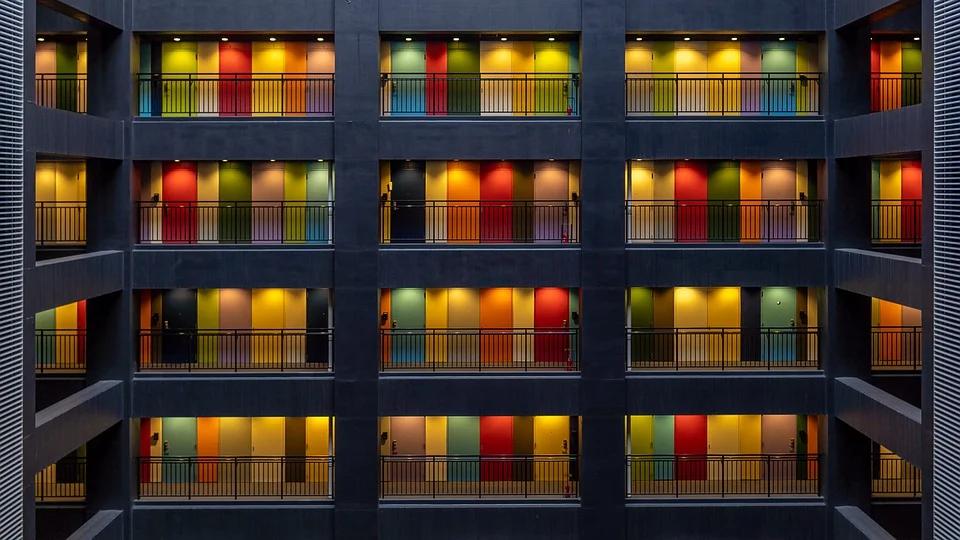 東京のアパートメント
