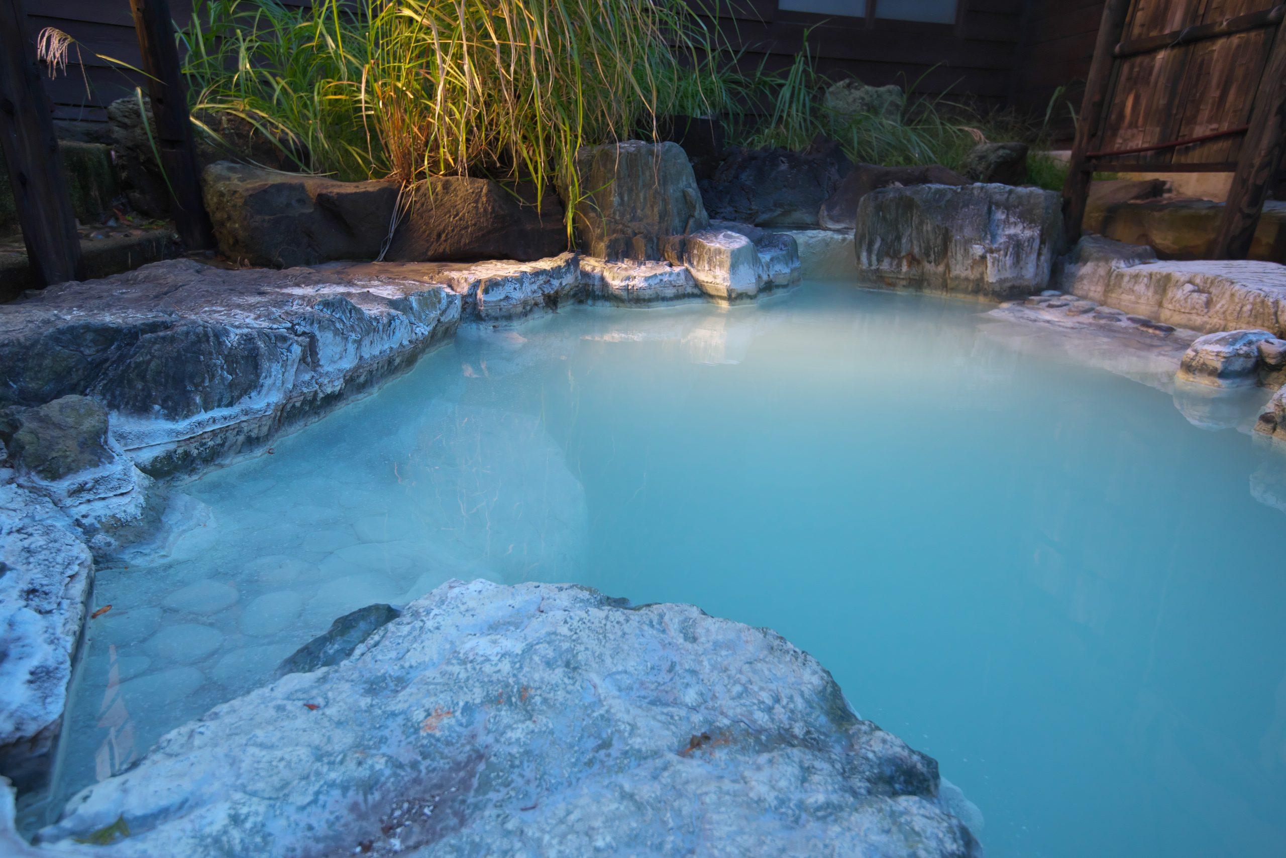 白神矢立 湯源郷の宿 露天風呂