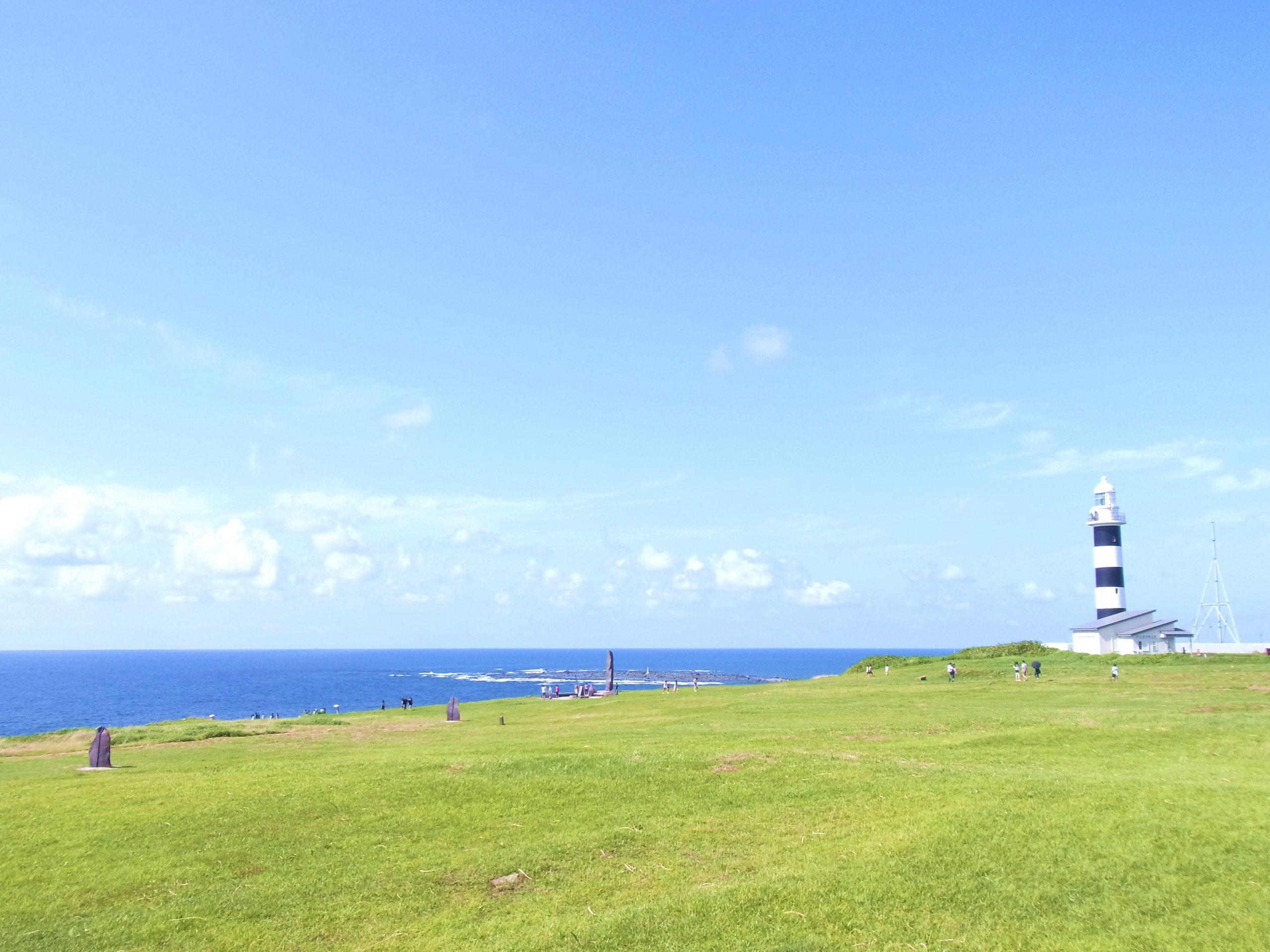 男鹿半島 入道崎灯台
