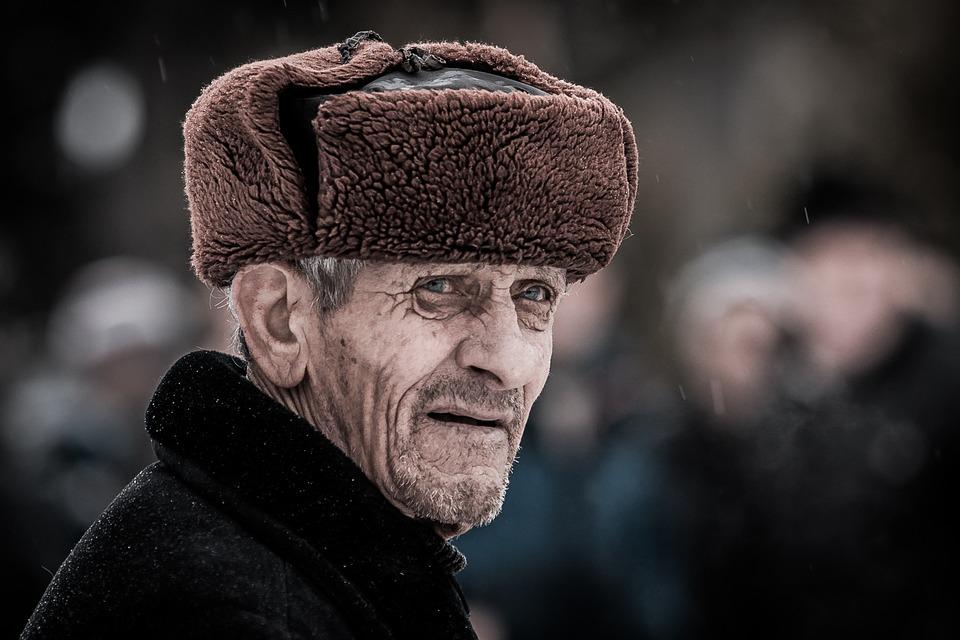 ロシアの高齢男性